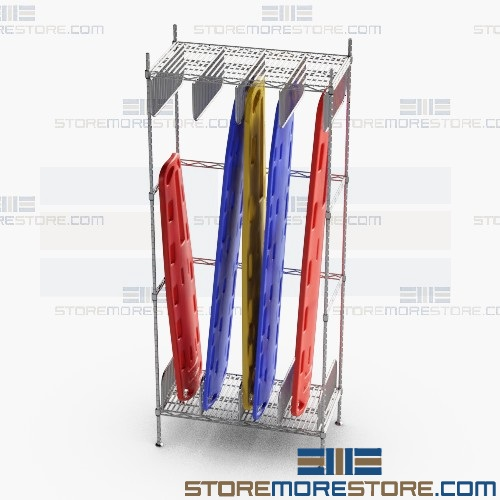 emt backboard stretcher storage racks