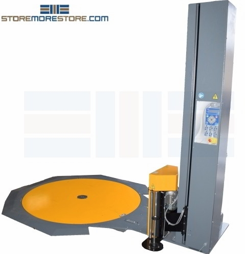 pallet stretch film wrapping machines