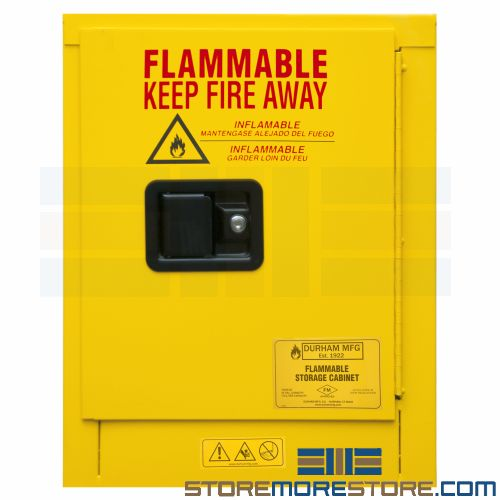 hazardous flammable storage cabinets