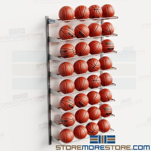 vertical basketball racks