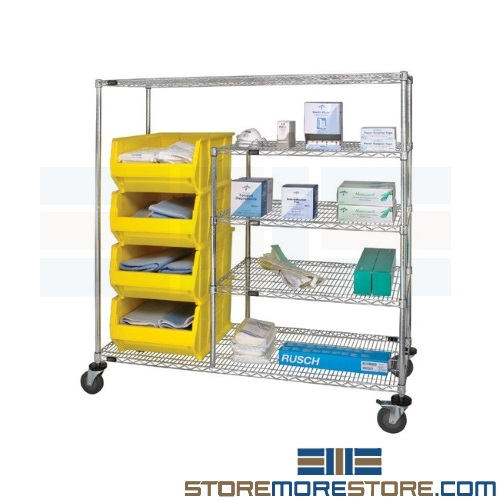 medical bin carts