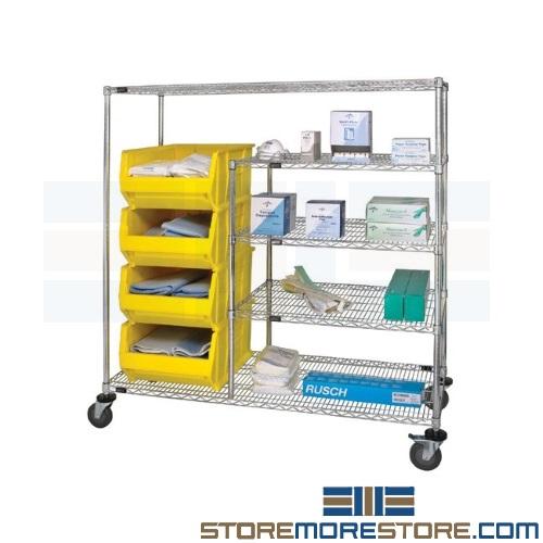 medical bin carts