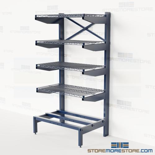 pipe bar stock cantilever racks