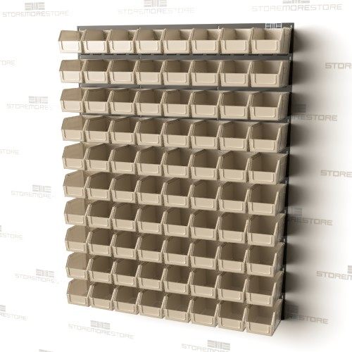wall mounted louvered panels