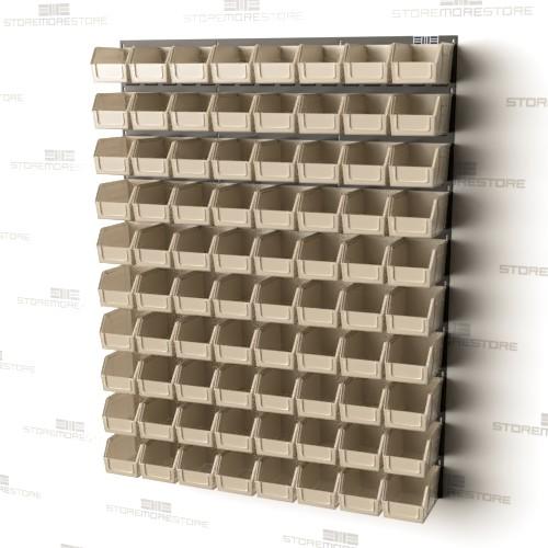 wall mounted louvered panels