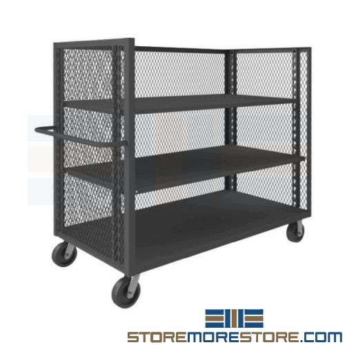 expanded metal carts