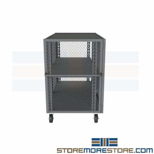 mesh side panel security carts