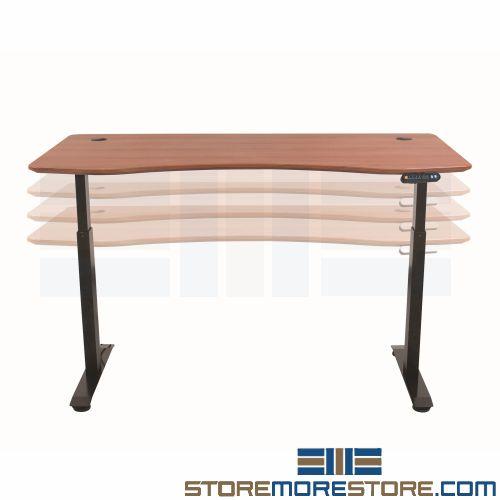 electric height adjustable desks