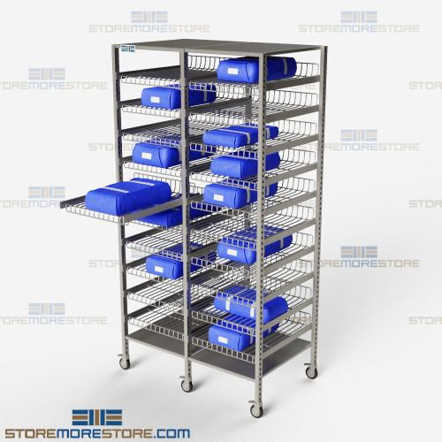 sterile core storage racks