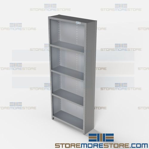 angle type closed shelving