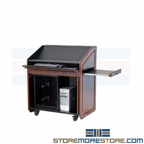 modern portable podiums