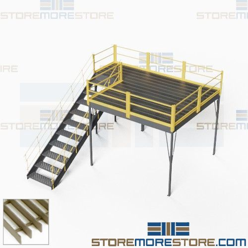 osha compliant mezzanine prefabricated kits