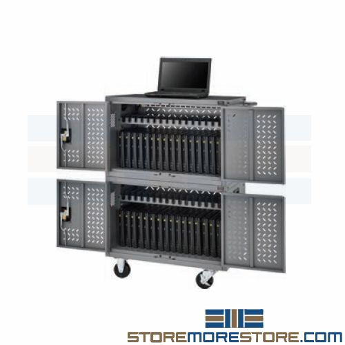 chromebook ipad tablet charging carts