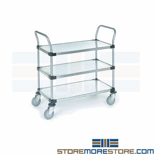 nsf certified shelving storage carts