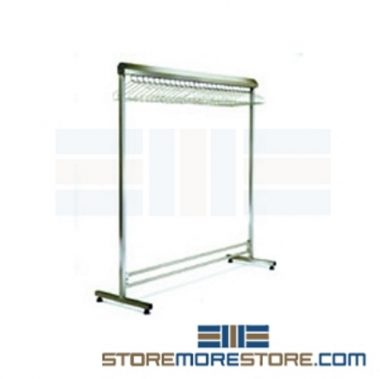 gowning clothing racks