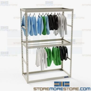 multi-level garment racks