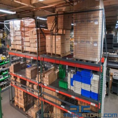 pallet rack guard panels