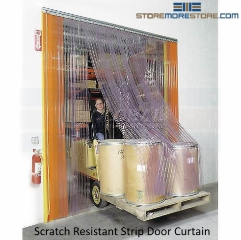 warehouse strip door curtains