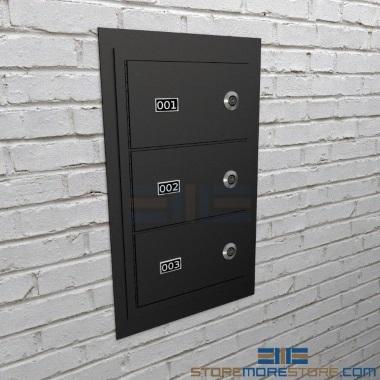 flush mount police gun wall lockers