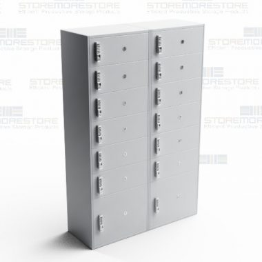 laminate parcel management lockers