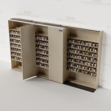 pharmacy-stacked-mobile-storage-bin-racks