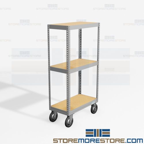 rolling file box shelving carts