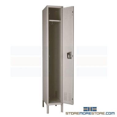 steel anti-microbial lockers