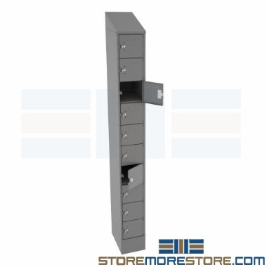 steel cell phone & tablet lockers