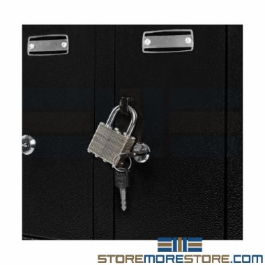 storage-cabinets-key-padlock-compartments