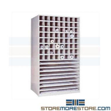 flat rolled plan shelves