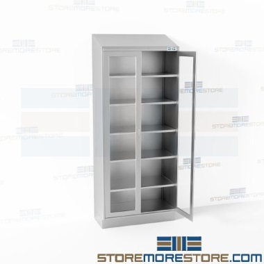 freestanding stainless steel cabinets