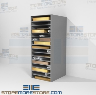 oversized flat print storage racks