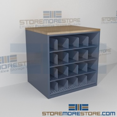 rolled plan steel counter cabinets