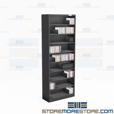 slim expandable media shelves