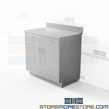 stainless counter cabinet door kits