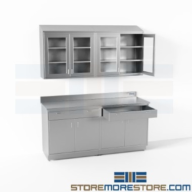 stainless-counter-cabinet-drawer-kits