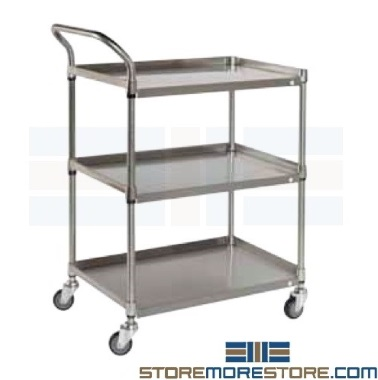 stainless steel bus carts