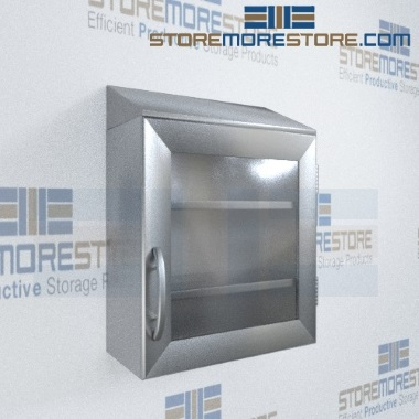 stainless steel wall storage cabinets