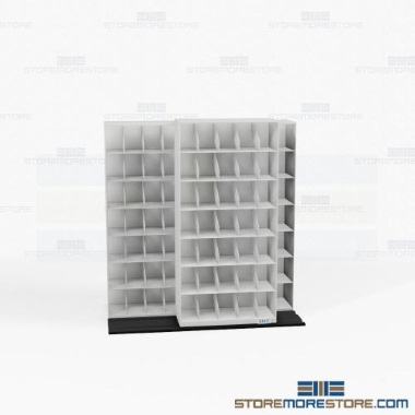 thin profile automotive sliding file shelves