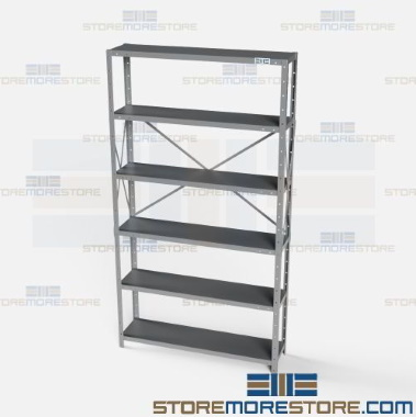 crime scene police property storage shelves