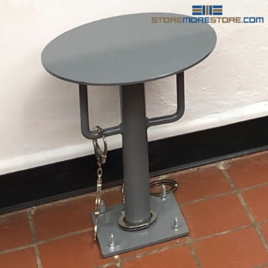 inmate restraint police stools