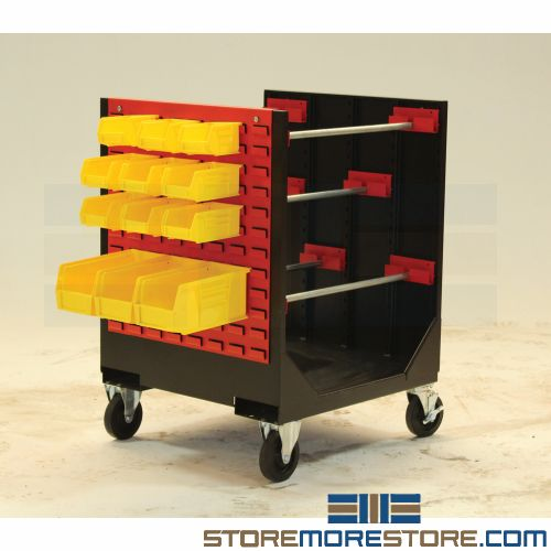 mobile wire spool cart