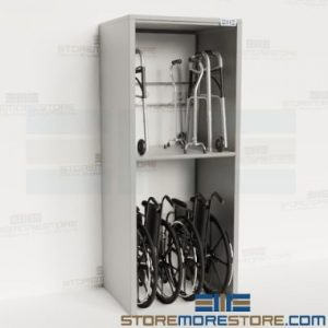 adjustable storage fold-up mobility aids