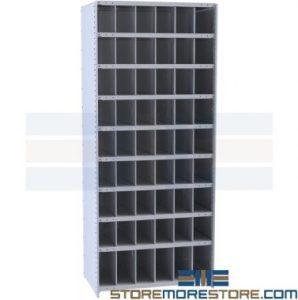 hi-tech bulk bin warehouse shelves