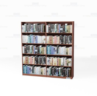 kitted library book collection cabinets