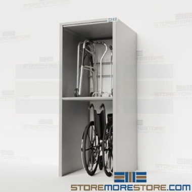 medical equipment shelves