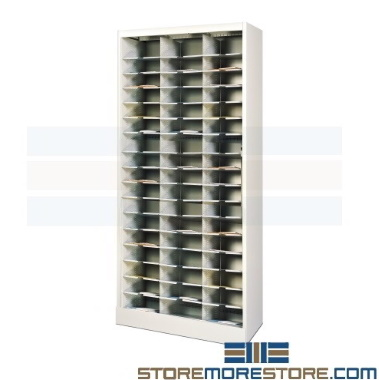 office mail sorter shelving