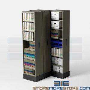 retractable school song sheet storage shelves