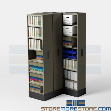 retractable school music sheet storage shelves