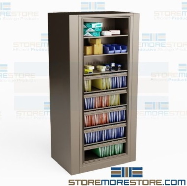 rotating school supply storage cabinets